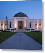 Griffith Observatory Metal Print by Adam Romanowicz