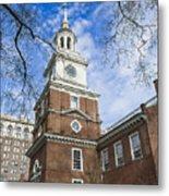 Independence Hall Metal Print by John Greim