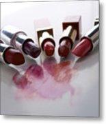 Lipsticks Metal Print by Bernard Jaubert