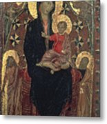 Madonna And Child Metal Print by Granger