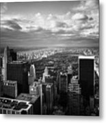 Nyc Central Park Metal Print by Nina Papiorek