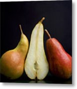 Pears Metal Print by Bernard Jaubert