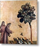 St. Francis Of Assisi Metal Print by Granger