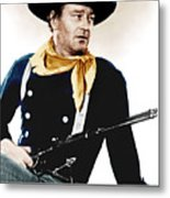 The Searchers, John Wayne, 1956 Metal Print by Everett