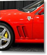 2003 Ferrari 575m . 7d9389 Metal Print by Wingsdomain Art and Photography