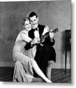 Silent Film Still: Couples Metal Print by Granger