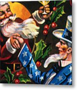 Christmas Card Metal Print by Granger