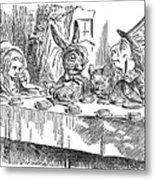 Carroll: Alice, 1865 Metal Print by Granger