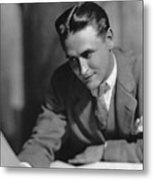F. Scott Fitzgerald Metal Print by Granger