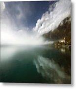 Misty Morning Metal Print by Angel  Tarantella