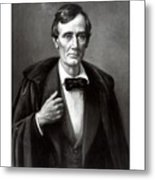 President Lincoln Metal Print by War Is Hell Store