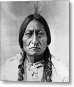 Sitting Bull (1834-1890) Metal Print by Granger