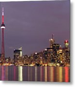 The City Of Toronto Metal Print by Oleksiy Maksymenko