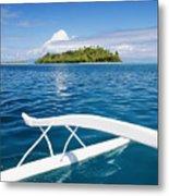 View Of Tahiti Metal Print by Joe Carini - Printscapes