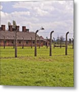 Auschwitz Birkenau Concentration Camp. Metal Print by Fernando Barozza