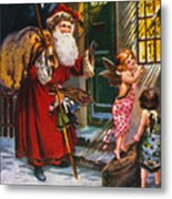 Christmas Card Metal Print by Granger