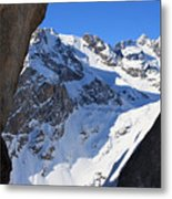 Serre Chevalier In The French Alps Metal Print by Pierre Leclerc Photography