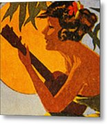 Vintage Hawaiian Art Metal Print by Hawaiian Legacy Archive - Printscapes
