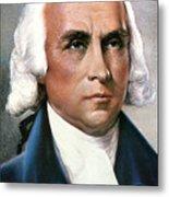 James Madison (1751-1836) Metal Print by Granger