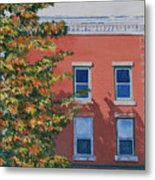 A Brick In Time Metal Print by Lynne Reichhart