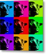 A Bunch Of Bull Metal Print by Wingsdomain Art and Photography