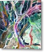 A Dying Tree Metal Print by Mindy Newman
