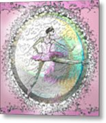 A La Second Pink Variation Metal Print by Cynthia Sorensen