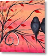 A Morning With You Metal Print by  Abril Andrade Griffith