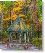 A Quiet Place-fall Time Metal Print by Robert Pearson