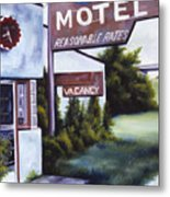 A Road Less Traveled Metal Print by James Christopher Hill