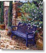 A Shady Resting Place Metal Print by David Lloyd Glover