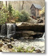 A Simple Place And Time Metal Print by Wallace Marshall