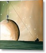 A Solar System Metal Print by Cindy Thornton