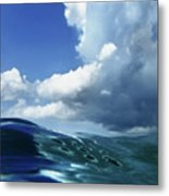 A Surfer's View Metal Print by Mauricio Jimenez