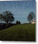 A View Of Mount Vernon, The Home Metal Print by Medford Taylor