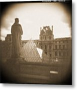 A Walk Through Paris 16 Metal Print by Mike McGlothlen