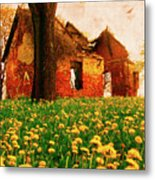 Abandoned Beauty Metal Print by Emily Allred