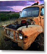 Abandoned Metal Print by Tim Nichols