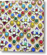 Abstract Ceramic Wall Background Metal Print by Wetchawut Masathianwong