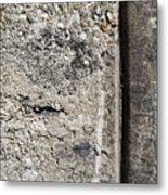 Abstract Concrete 16 Metal Print by Anita Burgermeister