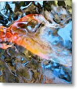 Abstract Fish Art - Fairy Tail Metal Print by Sharon Cummings