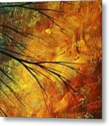 Abstract Landscape Art Passing Beauty 5 Of 5 Metal Print by Megan Duncanson