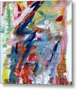 Abstract On Paper No. 36 Metal Print by Michael Henderson