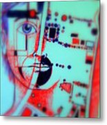 Abstract Thought Metal Print by Paulo Zerbato
