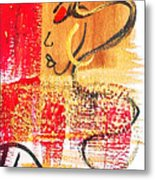 Abstract Thoughts  Metal Print by  Simone Fennell