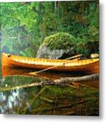 Adirondack Guideboat Metal Print by Frank Houck