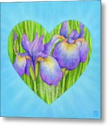 Adree Metal Print by Lisa Kretchman