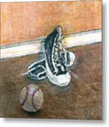 After The Game Metal Print by Arline Wagner