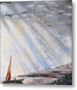 After The Storm Metal Print by Sherlyn Andersen