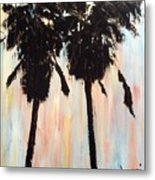 Afternoon Palms Metal Print by Sherri Wimberly